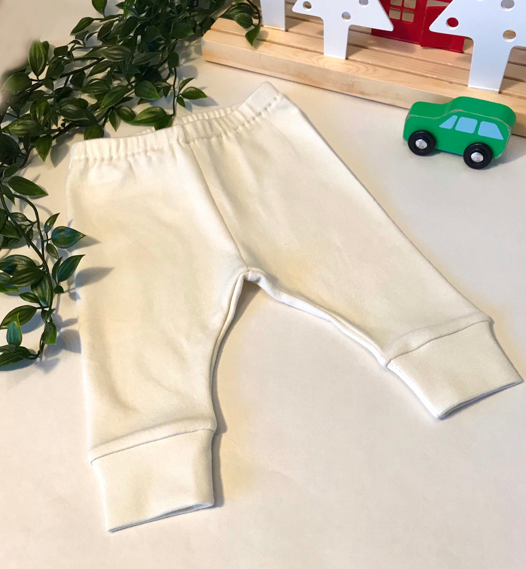 Organic Soft Basic Joggers (Newborn to 6m)