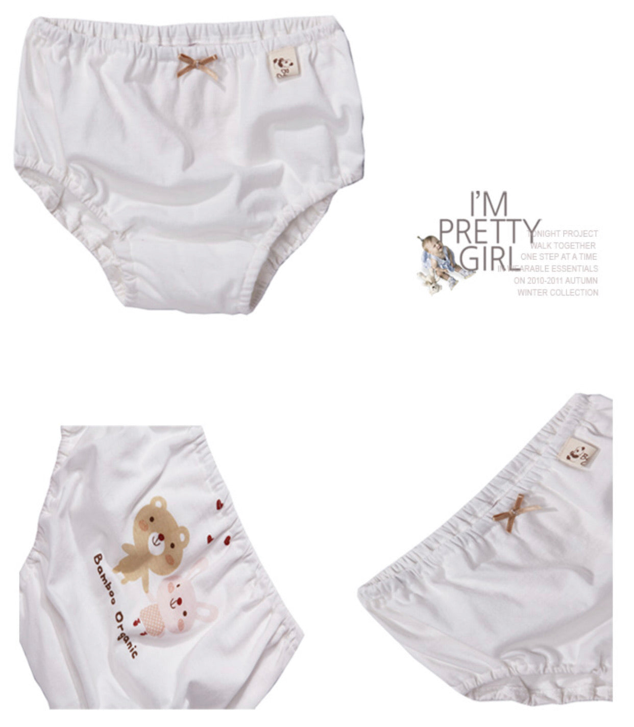 Organic Toddler Underwear