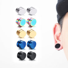 Load image into Gallery viewer, Strong Magnetic Ear Stud Non Piercing Earrings