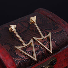 Load image into Gallery viewer, Triangle Stud Earrings