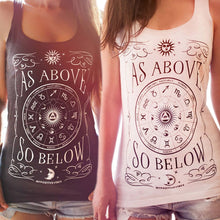 Load image into Gallery viewer, As Above So Below Tank Top