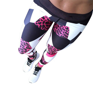 Abstract Yoga Pants Leggings