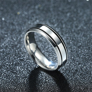 Mens Smooth Ring