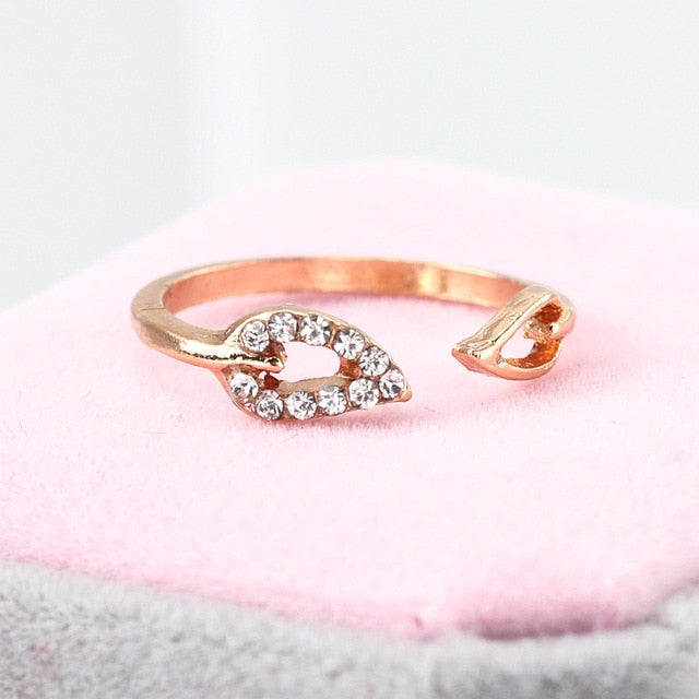 Heart And Flame Ring