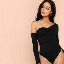 Load image into Gallery viewer, Sexy One Shoulder Bodysuit