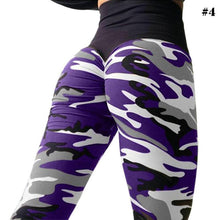 Load image into Gallery viewer, Slim Fit Camo Yoga Pants Leggings