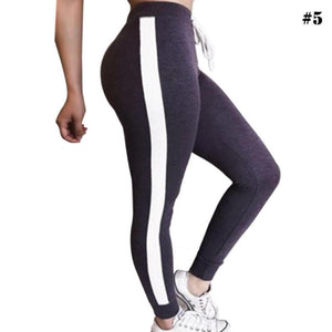 Striped Yoga Pants Leggings