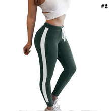 Load image into Gallery viewer, Striped Yoga Pants Leggings