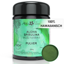 Laden Sie das Bild in den Galerie-Viewer, Hawaii Spirulina Algen Pulver 150 g