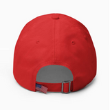 """Get Busy Living Or Get Busy Dying"" American Victory Hat - 100% Made in America"