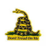 Don't Tread On Me Gadsden Flag Car Truck & Motorcycle Decal