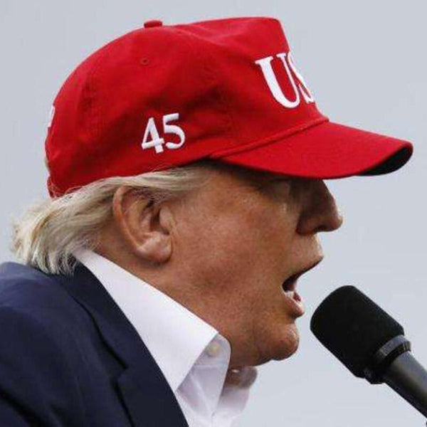 By Popular Demand: The Bold and The Clear - USA 45 Hat ! (Victory Red)