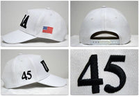 By Popular Demand: The Bold and The Clear - USA 45 Hat ! (Colorado Snow White)