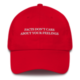"""Facts Don't Care About Your Feelings"" American Victory Hat - 100% Made in America"