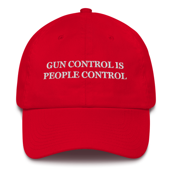 """Gun Control Is People Control"" American Victory Hat - 100% Made in America"