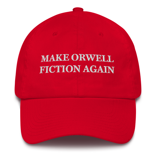 """Make Orwell Fiction Again"" American Victory Hat - 100% Made in America"