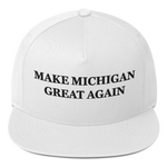 Make Michigan Great Again American Craftsmanship Hat - Embroidered in America (White)
