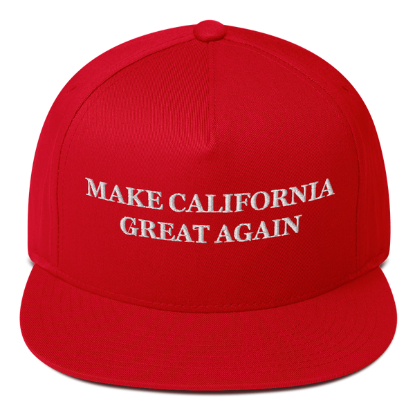 Make California Great Again American Craftsmanship Hat - Embroidered in America