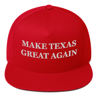 Make Texas Great Again American Craftsmanship Hat - Embroidered in America