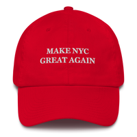 Make NYC Great Again American Victory Hat - 100% Made in America