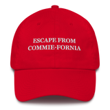 """Escape From Commie-Fornia"" American Victory Hat - 100% Made in America"