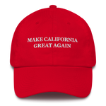 Make California Great Again American Victory Hat - 100% Made in America