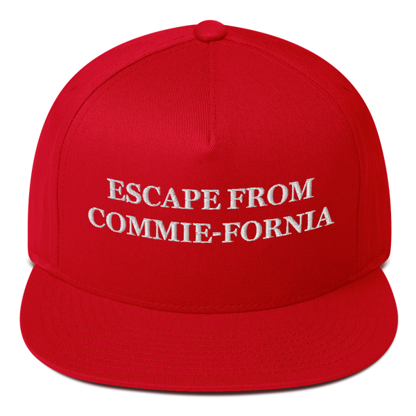 """Escape From Commie-Fornia"" American Craftsmanship Hat - Embroidered in America"