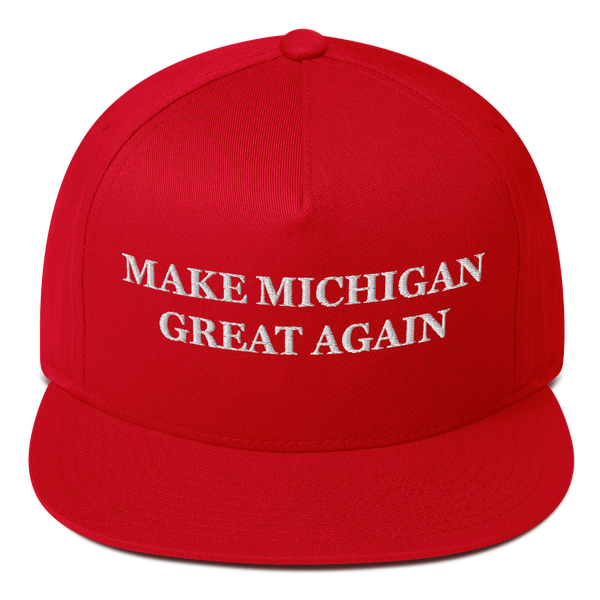 Make Michigan Great Again American Craftsmanship Hat - Embroidered in America