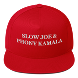 """Slow Joe & Phony Kamala"" American Craftsmanship Hat - Embroidered in America"