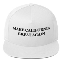 Make California Great Again American Craftsmanship Hat - Embroidered in America (White)