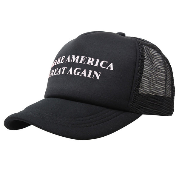Trending - Make America Great Again Ultra Comfort Edition Hat - Mesh Back / Netback, Snap Back, Screen Printed Trucker Hat
