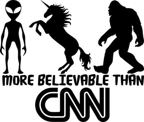 More Believable Than CNN - Fake News Decal