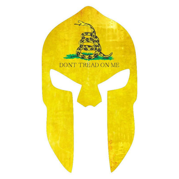 Don't Tread On Me Spartan Helmet Car Truck & Motorcycle Decal