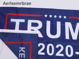 Trump 2020 Campaign Flag: Keep America Great - Trump Flag (100 pcs)