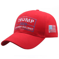 New - Embroidered Trump 2020 No More Bull Collection