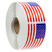 250 Piece American Flag Stickers