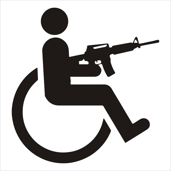 Handicap Decal (2pcs)