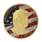 Trump Collectible Challenge Coin - Make America Great Again