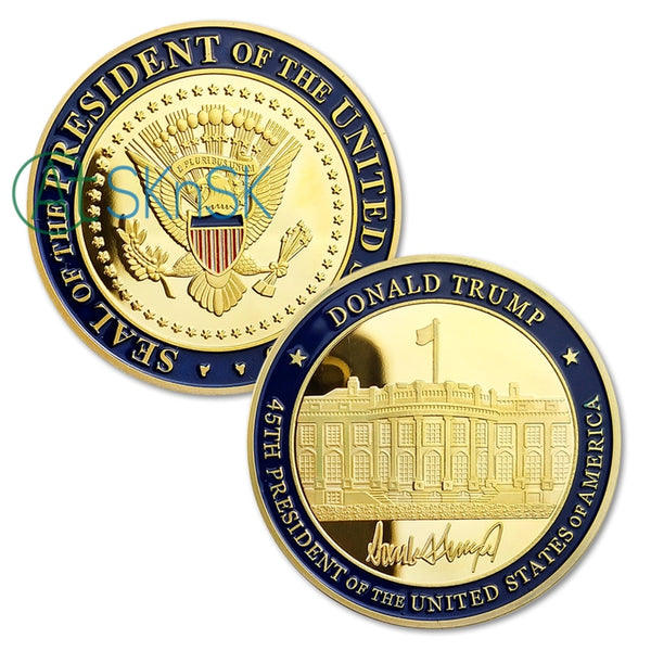 Trump Presidential Challenge Coin