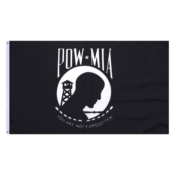They Are Not Forgotten - Remember Our Prisoners of War and Our Missing in Action with our POW MIA Flag
