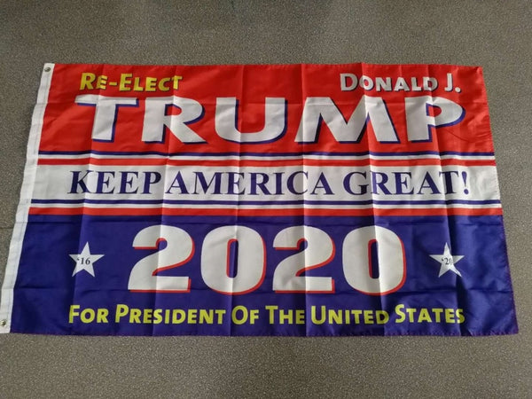Trump 2020 - Keep America Great - Trump Flag