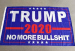 Trump 2020 - No More Bull - Trump Flag