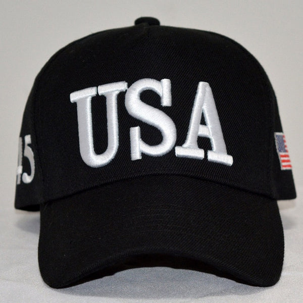 By Popular Demand: The Bold and The Clear - USA 45 Hat ! (Nevada Jet Black)