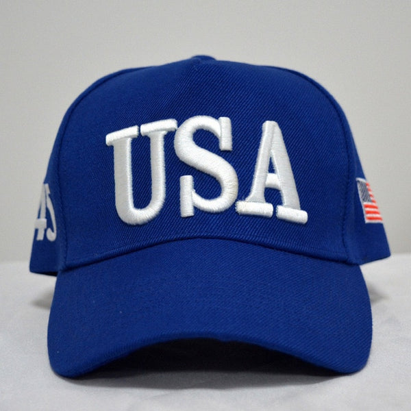 By Popular Demand: The Bold and The Clear - USA 45 Hat ! (Big Sky Blue)