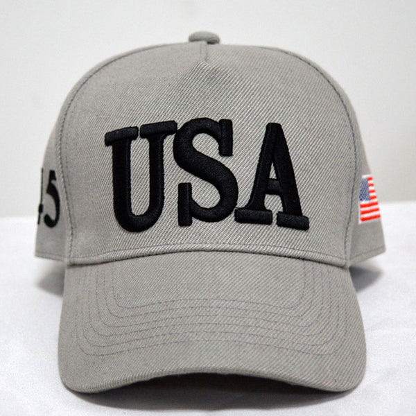 By Popular Demand: The Bold and The Clear - USA 45 Hat ! (Idaho Silver)