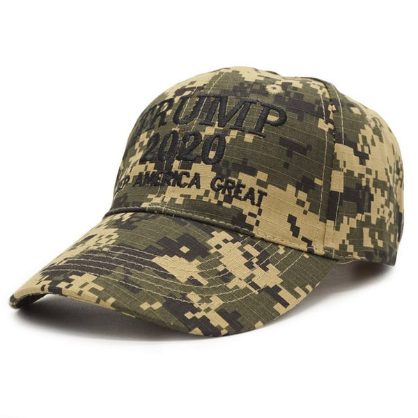 Trump 2020 Keep America Great Digital Camouflage Hat