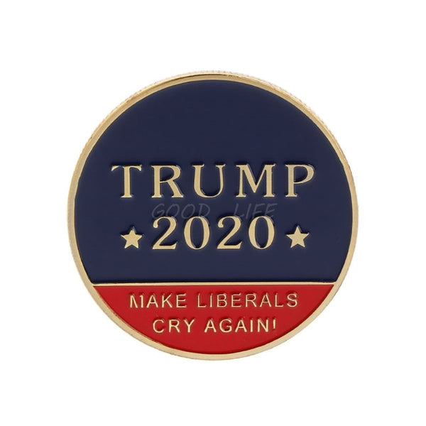 Commemorative Challenge Coin - Trump 2020 - Make Liberals Cry Again