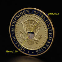 Trump 2020 Presidential Challenge Coin - With the Presidential Seal 🇺🇸 and US Flag