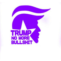 Trump - No More Bullsh*t Car Truck & Motorcycle Decal