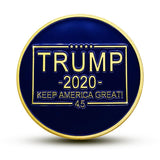 Trump 2020 - Keep America Great Challenge Coin
